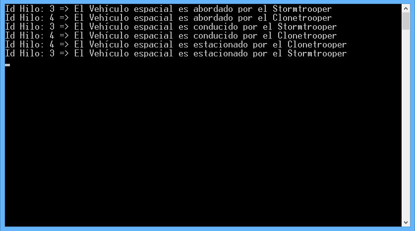 Resultado de ejecución, Acceso a recurso compartido sin bloqueo